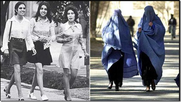 Women-in-Afghanistan-then-and-now