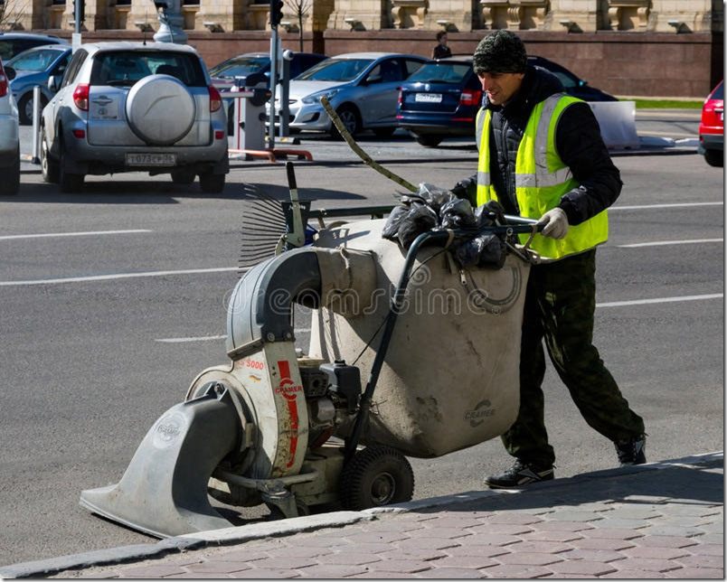 cleaning-street-manual-sweeper-voronezh-russia-april-95007735